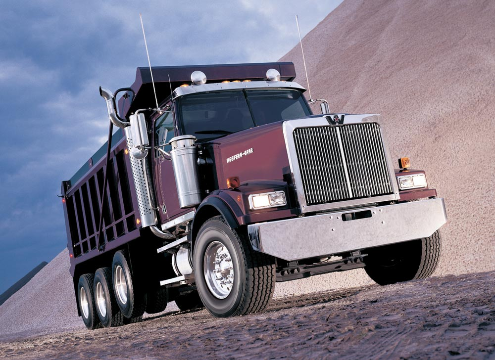 Western Star Gravel Truck
